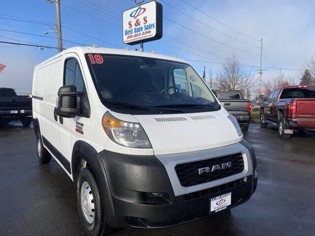 2019 RAM ProMaster Cargo for sale at S&S Best Auto Sales LLC in Auburn WA