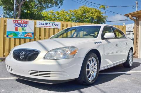 2006 Buick Lucerne for sale at ALWAYSSOLD123 INC in Fort Lauderdale FL