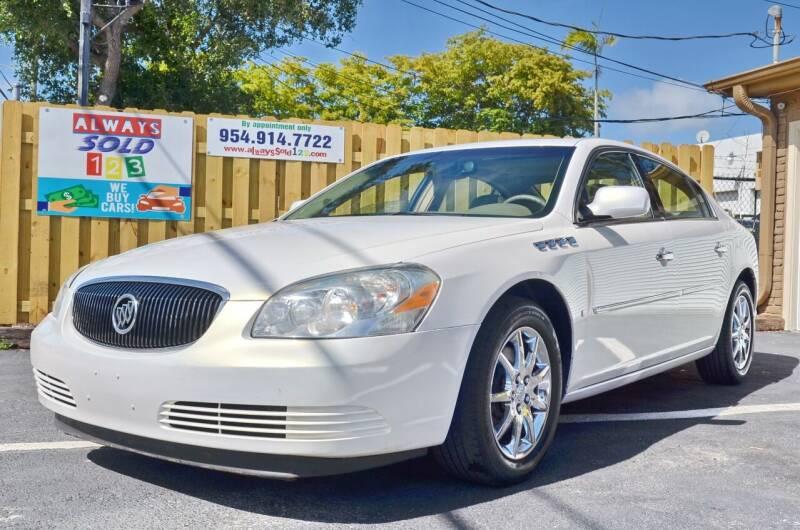 2006 Buick Lucerne for sale at ALWAYSSOLD123 INC in Fort Lauderdale FL