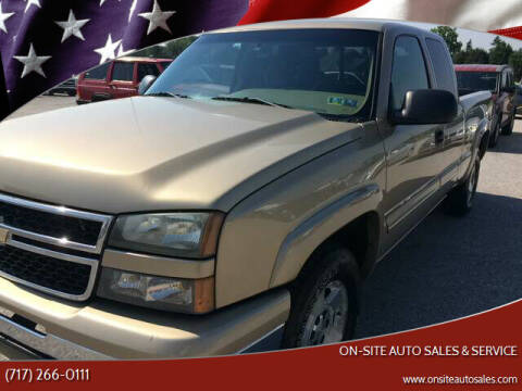2006 Chevrolet Silverado 1500 for sale at On-Site Auto Sales & Service in York PA