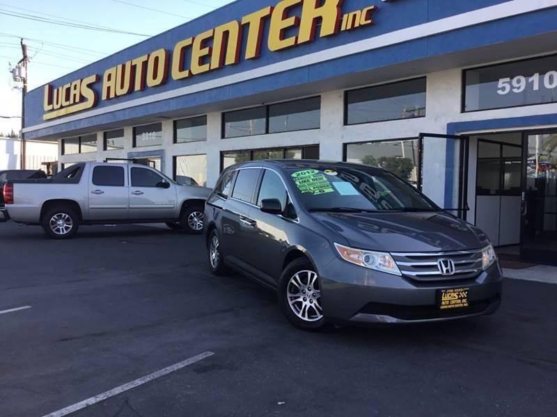 2012 Honda Odyssey for sale at LA PLAYITA AUTO SALES INC - 3271 E. Firestone Blvd Lot in South Gate CA
