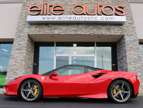 2020 Ferrari F8 Tributo for sale at Elite Autos LLC in Jonesboro AR