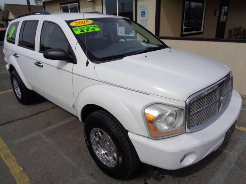 2005 Dodge Durango for sale at BBL Auto Sales in Yakima WA
