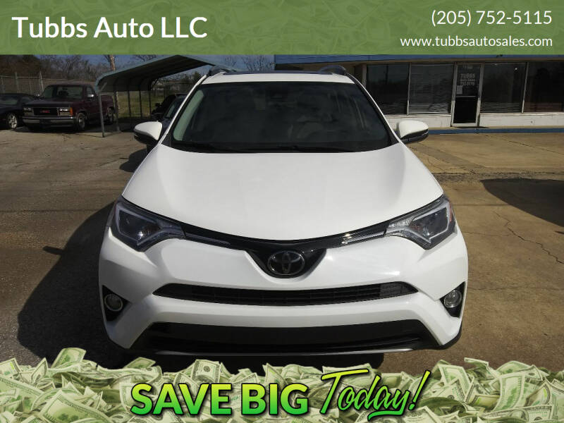 2018 Toyota RAV4 for sale at Tubbs Auto LLC in Tuscaloosa AL
