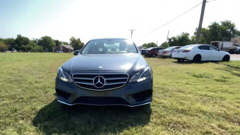 2014 Mercedes-Benz E-Class for sale at N & A Metro Motors in Dallas TX