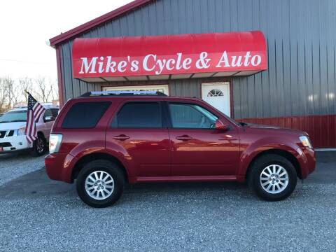 2011 Mercury Mariner for sale at MIKE'S CYCLE & AUTO in Connersville IN