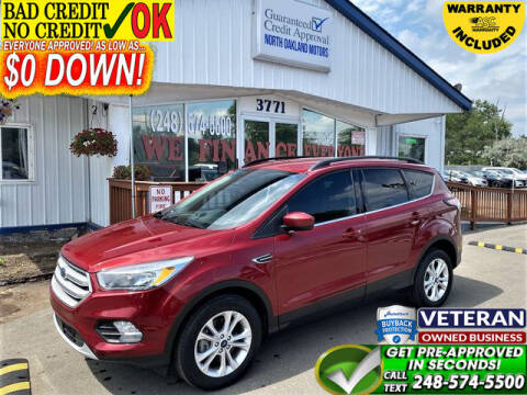 2018 Ford Escape for sale at North Oakland Motors in Waterford MI