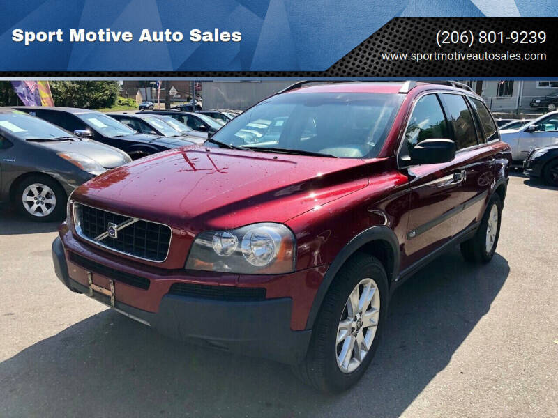 2006 Volvo XC90 for sale at Sport Motive Auto Sales in Seattle WA
