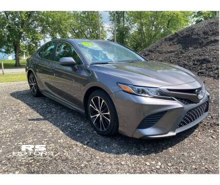 2019 Toyota Camry for sale at RS Motors in Falconer NY