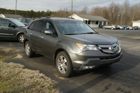 2007 Acura MDX for sale at Herman's Motor Sales Inc in Hurt VA