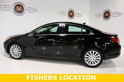 2012 Buick Regal for sale at Unlimited Motors in Fishers IN