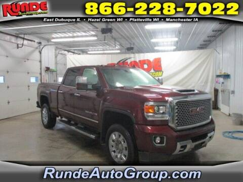 2017 GMC Sierra 2500HD for sale at Runde Chevrolet in East Dubuque IL