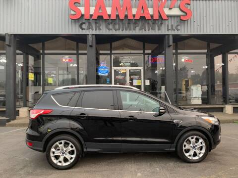 2016 Ford Escape for sale at Siamak's Car Company llc in Salem OR