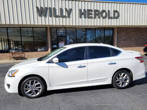 2015 Nissan Sentra for sale at Willy Herold Automotive in Columbus GA