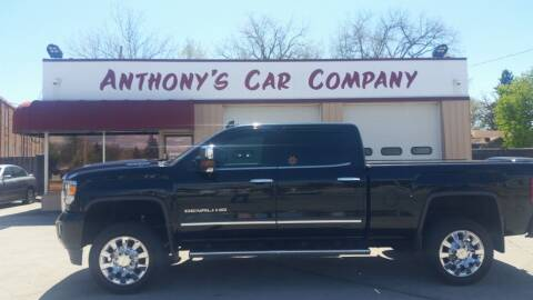 2018 GMC Sierra 2500HD for sale at Anthony's Car Company in Racine WI