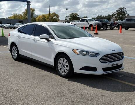 2014 Ford Fusion for sale at KAYALAR MOTORS - ECUFAST HOUSTON in Houston TX