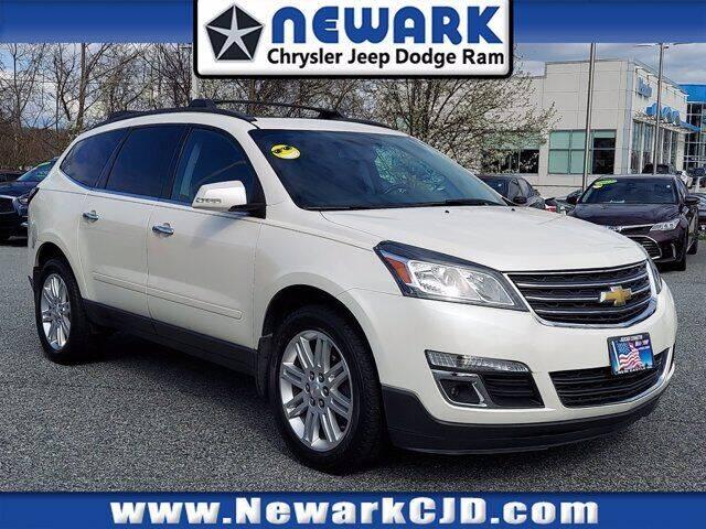 2014 Chevrolet Traverse for sale at NEWARK CHRYSLER JEEP DODGE in Newark DE