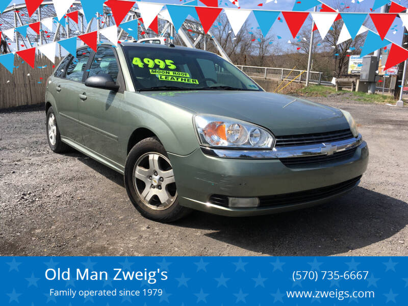 2005 Chevrolet Malibu Maxx for sale at Old Man Zweig's in Plymouth Township PA