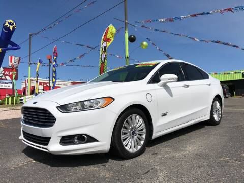 2016 Ford Fusion Energi for sale at 1st Quality Motors LLC in Gallup NM