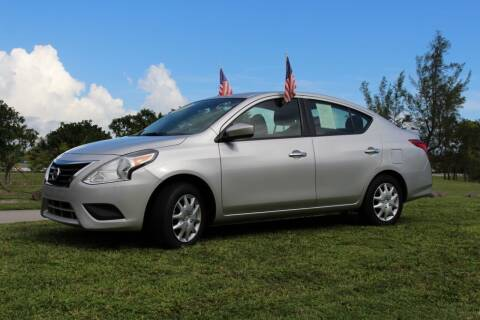 2018 Nissan Versa for sale at CHASE MOTOR in Miami FL