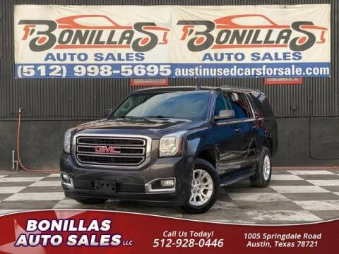2017 GMC Yukon XL for sale at Bonillas Auto Sales in Austin TX