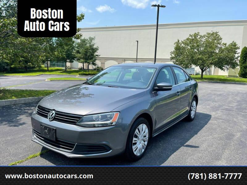 2013 Volkswagen Jetta for sale at Boston Auto Cars in Dedham MA