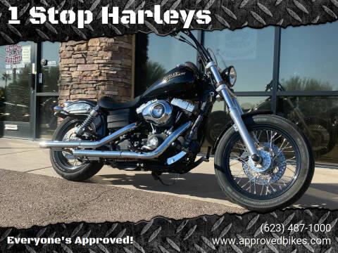 2012 Harley-Davidson FXDB Street Bob for sale at 1 Stop Harleys in Peoria AZ