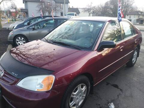2002 Honda Civic for sale at Oak Hill Auto Sales of Wooster, LLC in Wooster OH