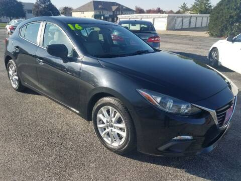 2016 Mazda MAZDA3 for sale at Cooley Auto Sales in North Liberty IA
