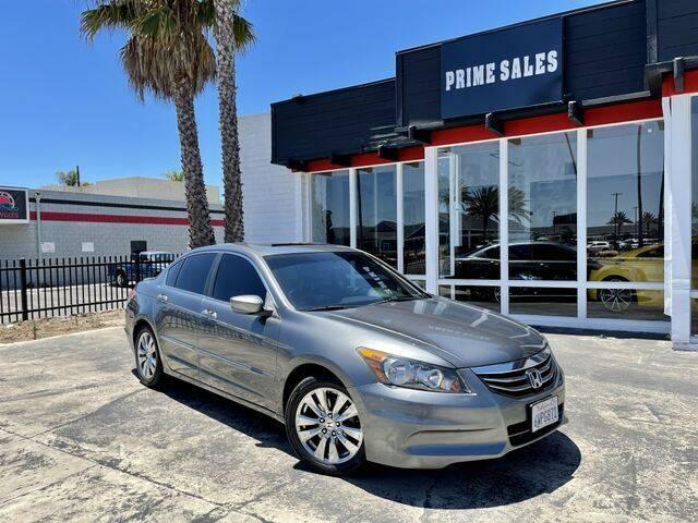 2012 Honda Accord for sale at Prime Sales in Huntington Beach CA