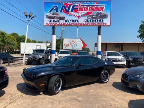 2014 Dodge Challenger for sale at ANF AUTO FINANCE in Houston TX