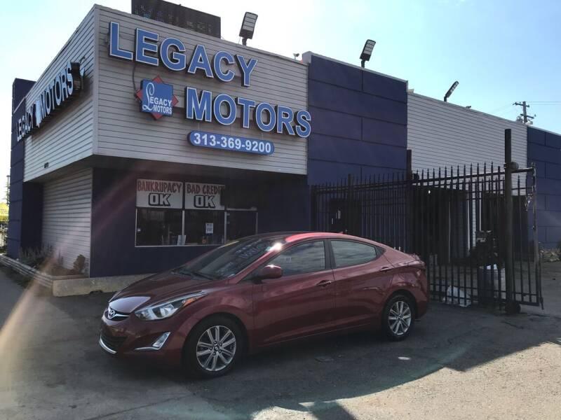 2016 Hyundai Elantra for sale at Legacy Motors in Detroit MI