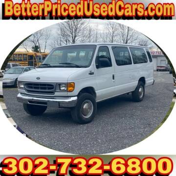 2000 Ford E-350 for sale at Better Priced Used Cars in Frankford DE
