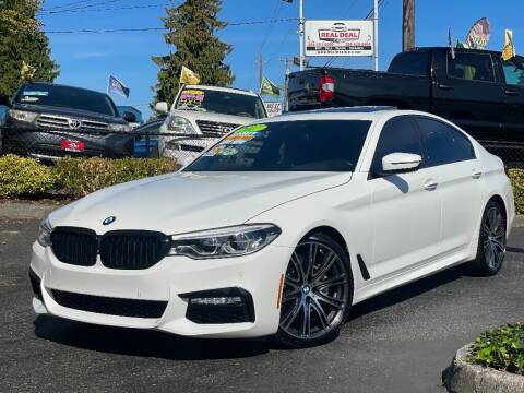 2017 BMW 5 Series for sale at Real Deal Cars in Everett WA