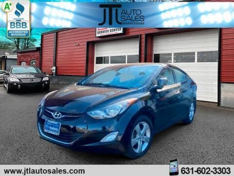 2013 Hyundai Elantra for sale at JTL Auto Inc in Selden NY