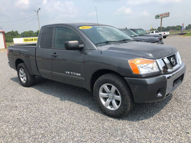 2010 Nissan Titan for sale at RAYMOND TAYLOR AUTO SALES in Fort Gibson OK