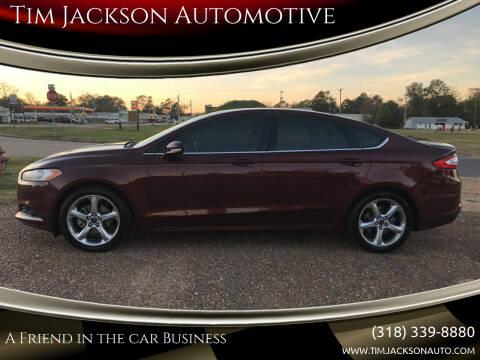2015 Ford Fusion for sale at Tim Jackson Automotive in Jonesville LA