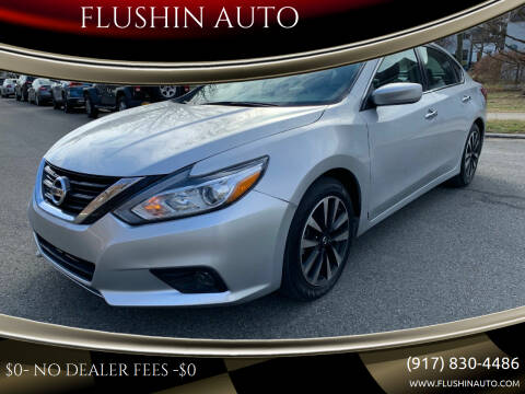 2018 Nissan Altima for sale at FLUSHIN AUTO in Flushing NY