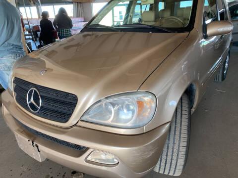 2003 Mercedes-Benz M-Class for sale at PYRAMID MOTORS - Pueblo Lot in Pueblo CO