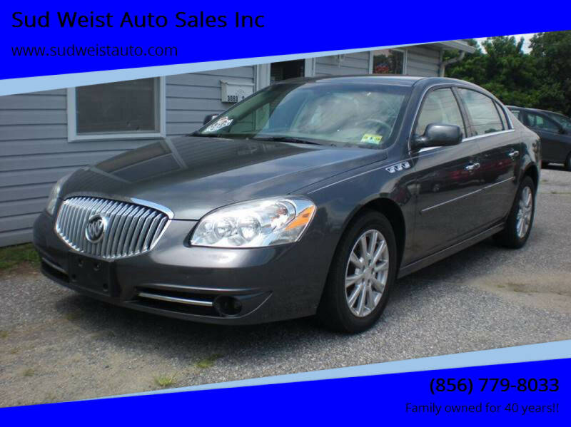 2011 Buick Lucerne for sale at Sud Weist Auto Sales Inc in Maple Shade NJ