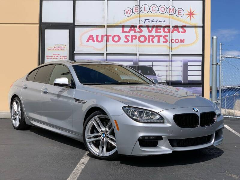 2014 BMW 6 Series for sale at Las Vegas Auto Sports in Las Vegas NV