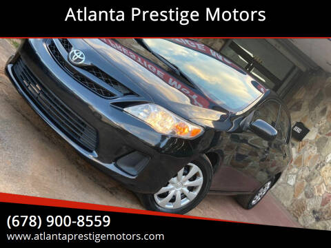 2013 Toyota Corolla for sale at Atlanta Prestige Motors in Decatur GA