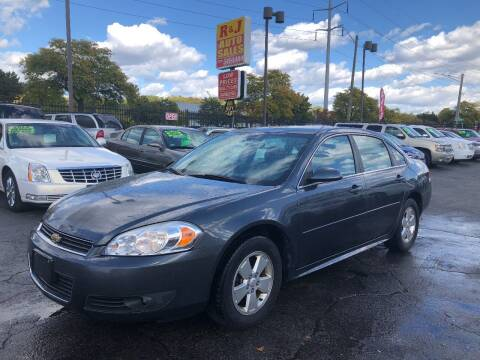 2011 Chevrolet Impala for sale at RJ AUTO SALES in Detroit MI