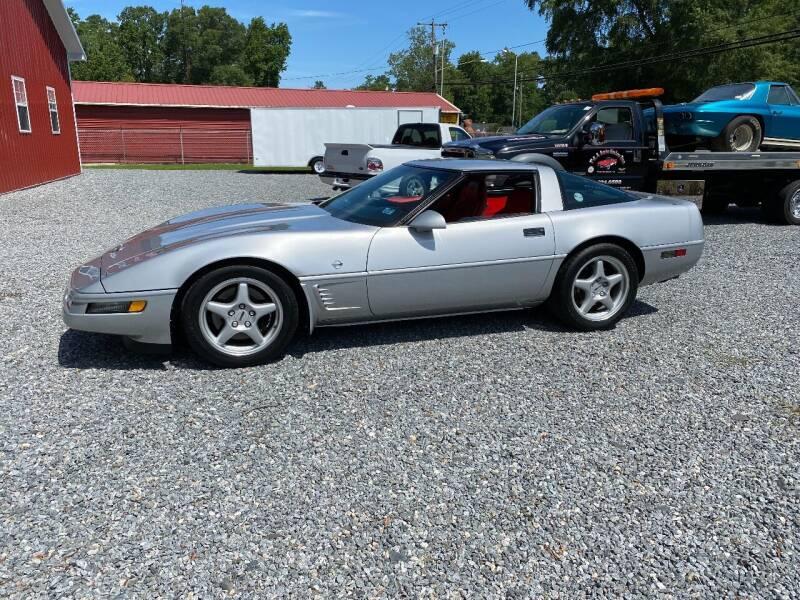 1996 Chevrolet Corvette for sale at F & A Corvette in Colonial Beach VA