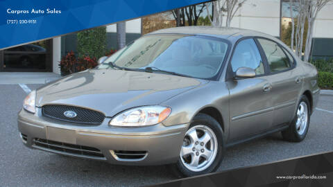 2007 Ford Taurus for sale at Carpros Auto Sales in Largo FL