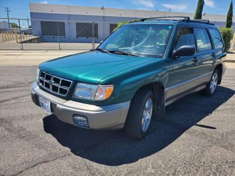 1999 Subaru Forester for sale at The Auto Barn in Sacramento CA