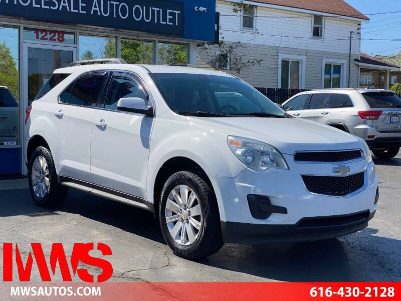 2011 Chevrolet Equinox for sale at MWS Wholesale  Auto Outlet in Grand Rapids MI