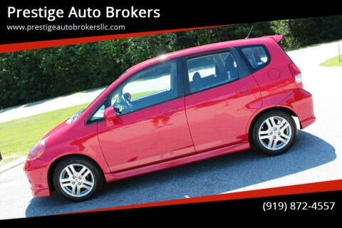 2008 Honda Fit for sale at Prestige Auto Brokers in Raleigh NC