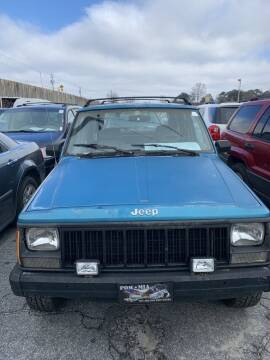 1993 Jeep Cherokee for sale at J D USED AUTO SALES INC in Doraville GA