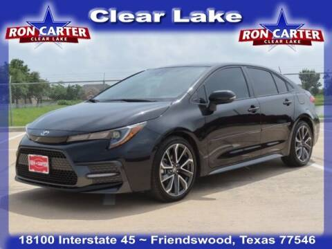 2020 Toyota Corolla for sale at Ron Carter  Clear Lake Used Cars in Houston TX